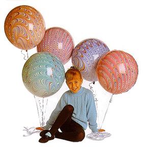 18 Peacock Balloons