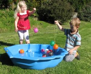 YoYo Balloon Fishing Fun