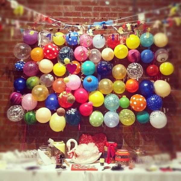 Balloon Wall and Party Game