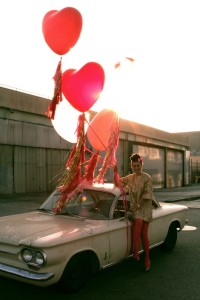 Say it with 36 inch heart balloons