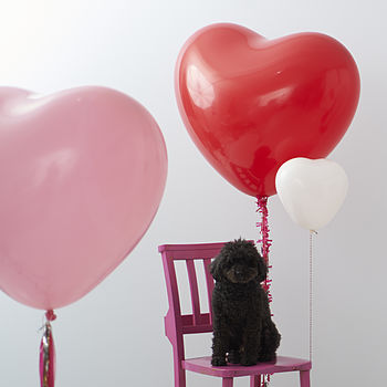 Love - Giant Heart Balloons