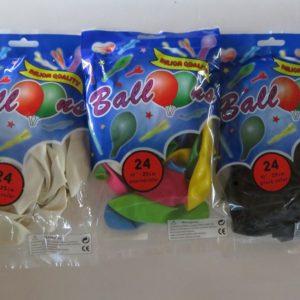25cm Latex Balloons